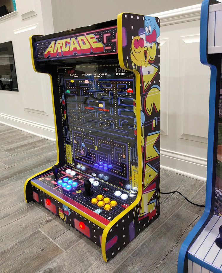 These Wall-Mounted Arcade Cabinets Are Radical!