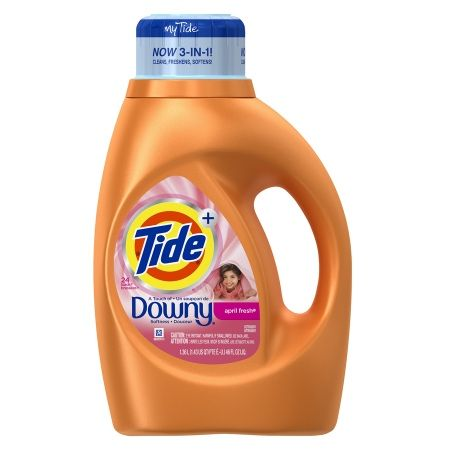Tide Plus A Touch Of Downy Liquid Laundry Detergent 24 Loads April