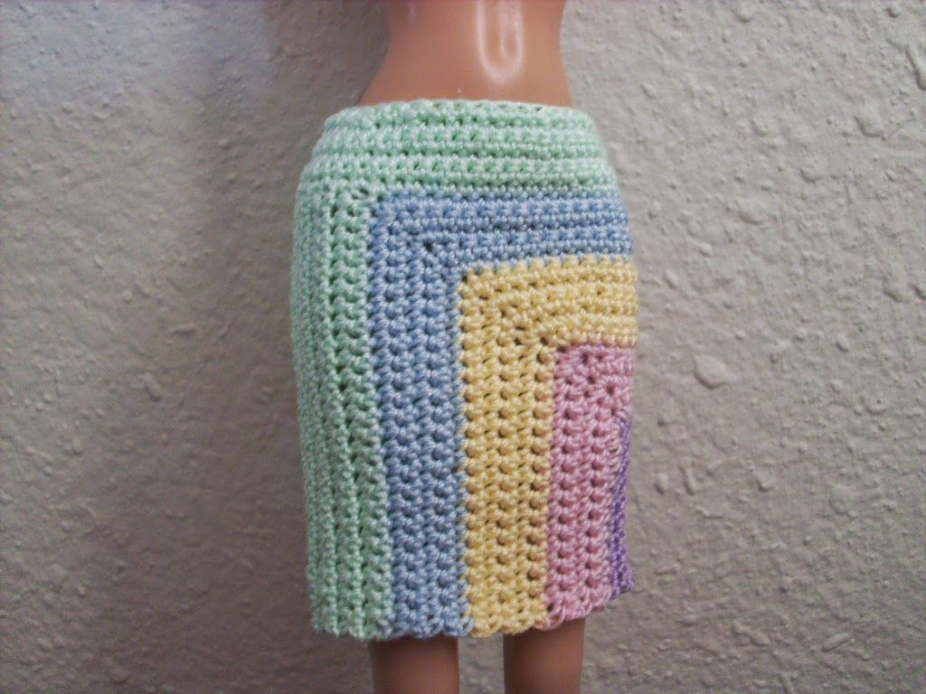 Crochet for Barbie (the belly button body type) | Barbie | Pinterest ...