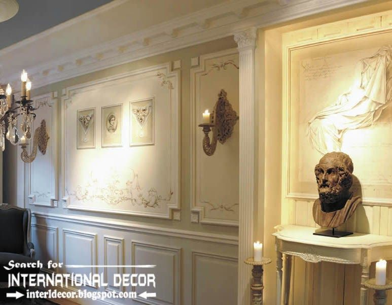 molding ideas for walls decorative wall molding or wall moulding designs ideas - Decorative Wall Molding Designs