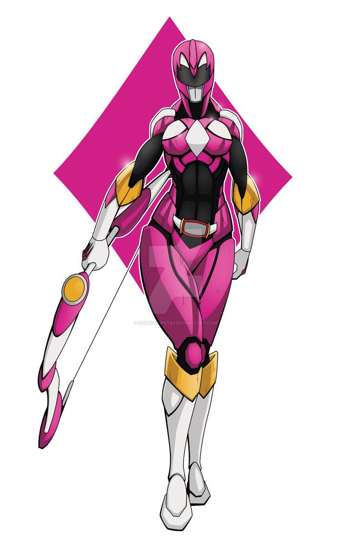 Pink Power Ranger by comicartist88.deviantart.com on @DeviantArt ...