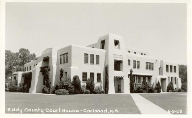Carlsbad Built 1892 With 1914 Addition Remodeled 1939 Arch R W Vorhees Contr Lembke Constr Co In 2020 House Styles New Mexico Mexico