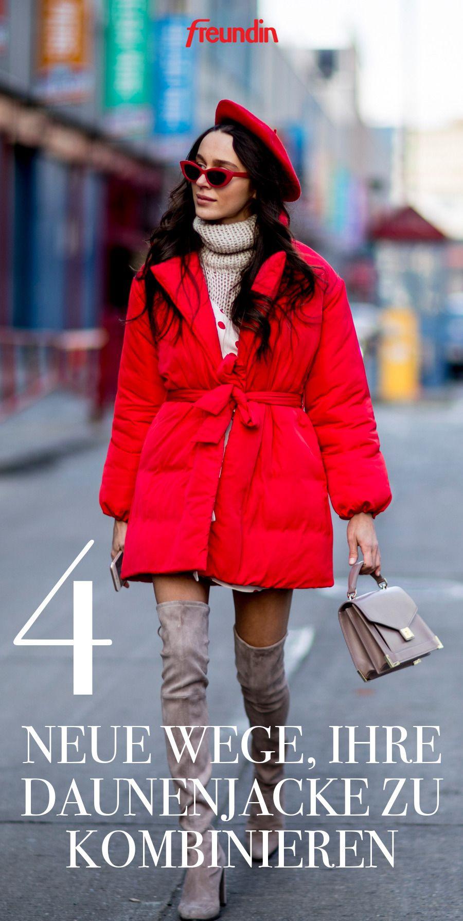 4 neue Wege, Ihre Daunenjacke zu kombinieren | Jacken