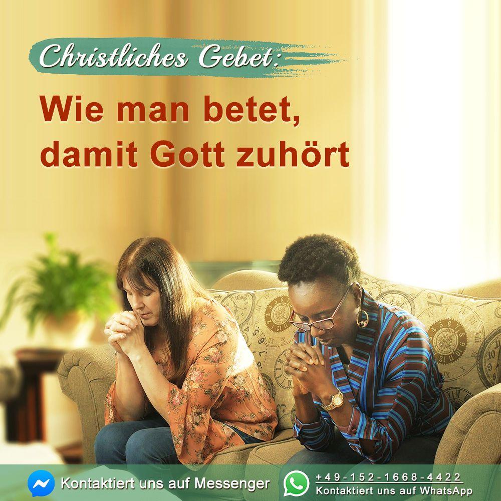 Wie Betet Man Richtig Zu Gott