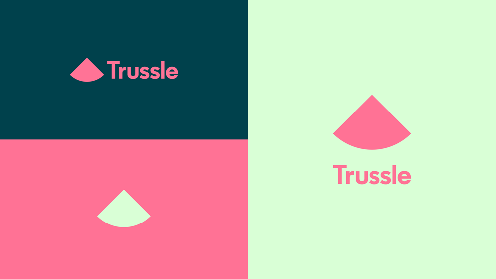 New Logo And Identity For Trussle By Ragged Edge Identity Identity Logo Branding