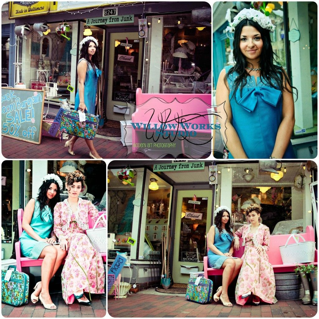 Vintage sisters at A journey from Junk