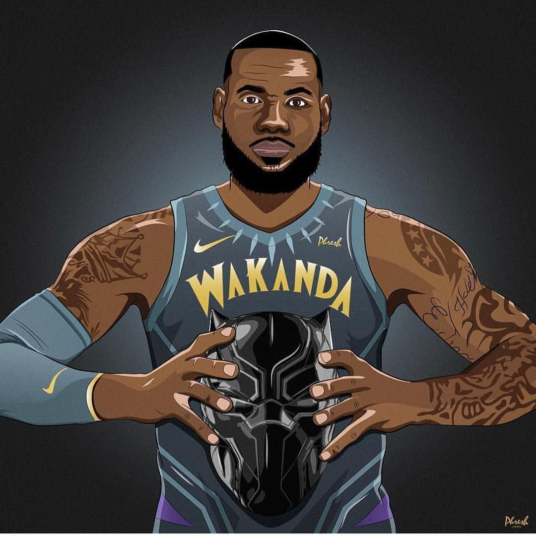 Cleveland Cavaliers On Instagram Wakanda Forever Lebron James