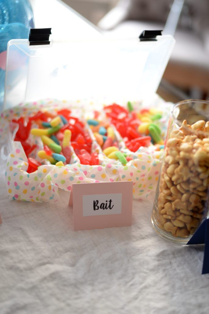 Fishing Themed Gender Reveal Party Gender Reveal Party Food Gender Reveal Party Baby Gender Reveal Party