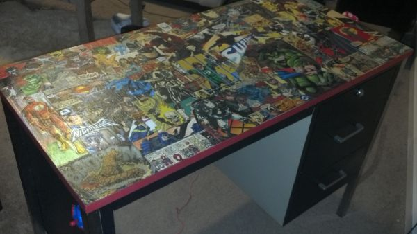 Custom comic book desk    greenvillecraigslistorg fuo - craigslist greenville