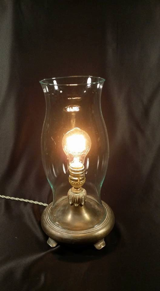 Ooak steampunk inspired brass and glass lamp upcycled vintage lamp ooak steampunk inspired brass and glass lamp upcycled vintage lamp parts vintage style edison mozeypictures Image collections