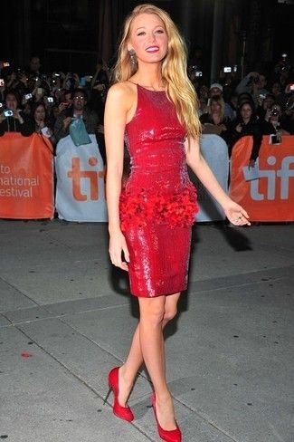 De Un Looks Vestido Unos Zapatos Rojo Vestir Con Moda 230 qwpI75