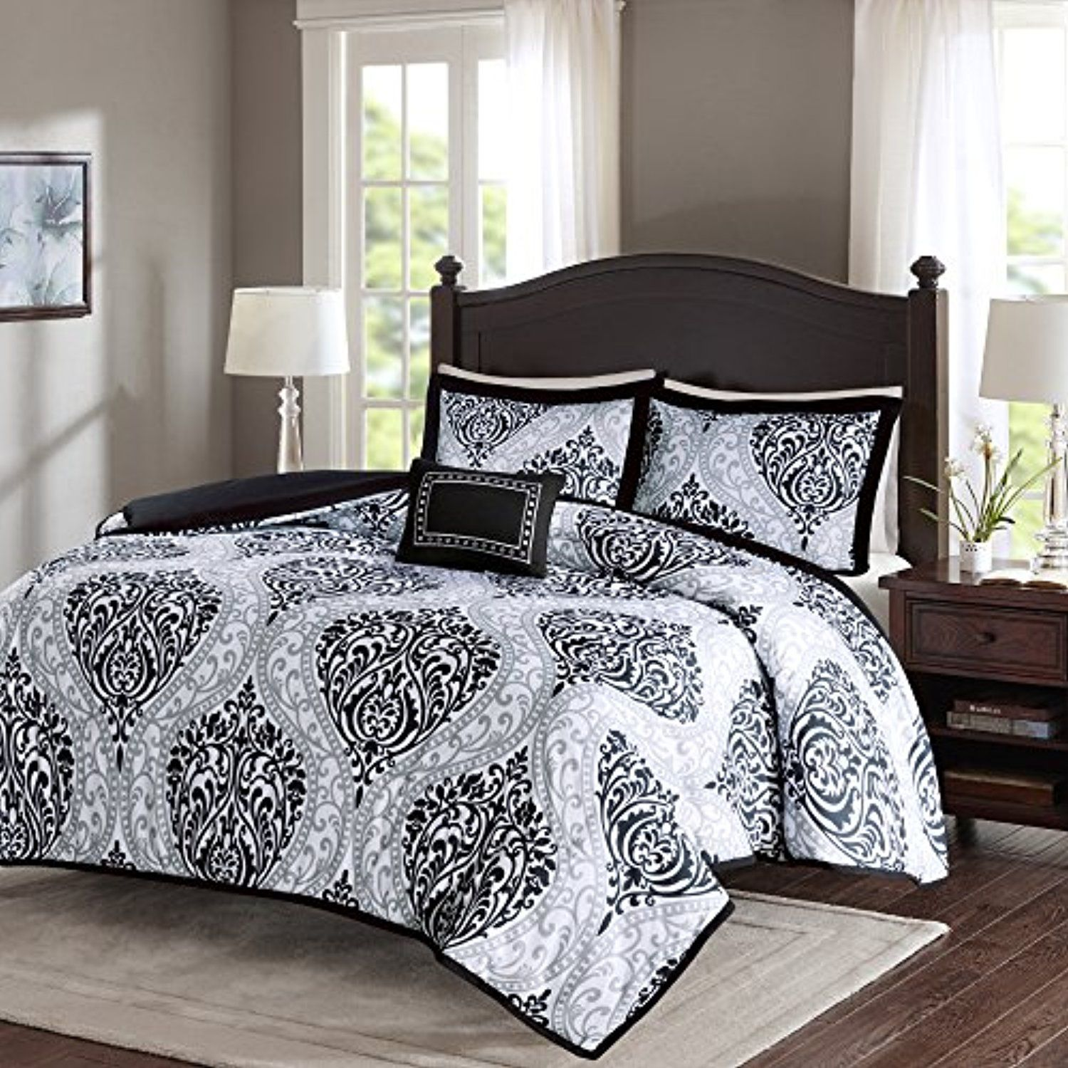 Comfort Spaces  Coco Comforter Set  4 Piece