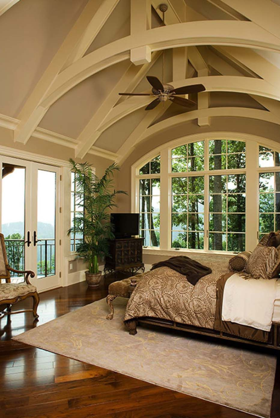 33 Stunning Master Bedroom Retreats With Vaulted Ceilings Home My Dream Home House
