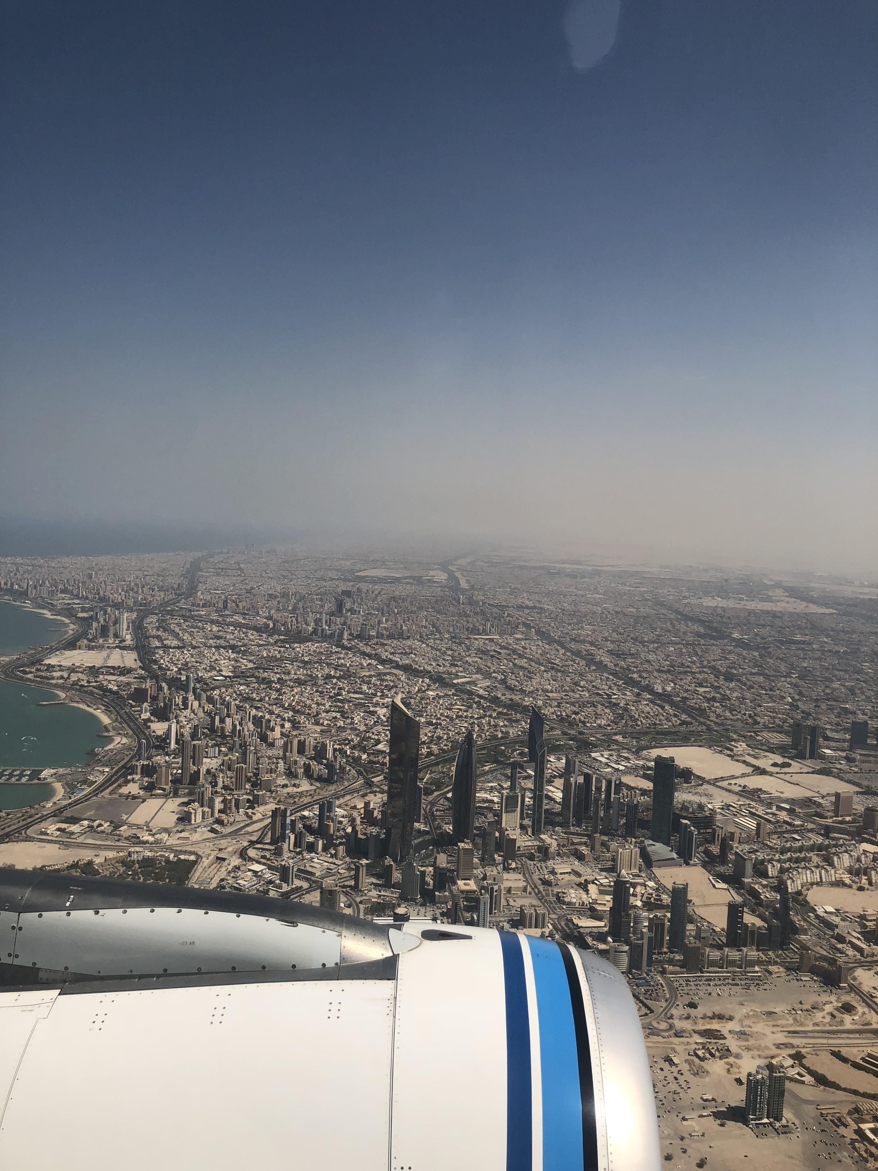 Aerial View Of Kuwait City Cities Buildings Photography