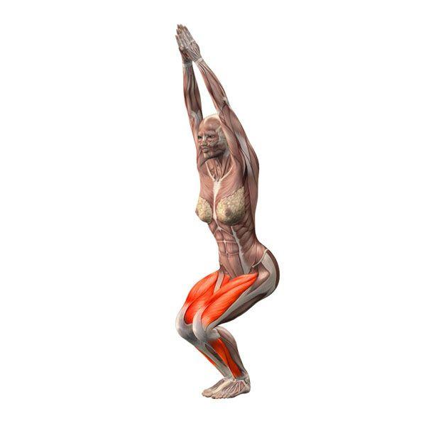Yoga Chair Pose Office That Leans Back Utkatasana Poses Com Exercise