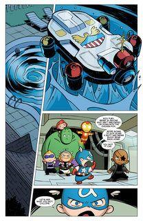 Young Marvel Little X Men Little Avengers Big Trouble Getcomics Avengers Baby Avengers Marvel Funny