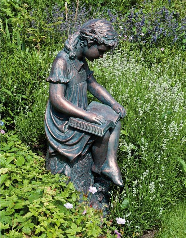 Pin By MoonShine On Books Reading.   Pinterest   Garden Statues Small Gardens And Gardens