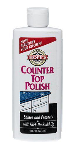 Hopes Premium Home Care Wax Free Counter Top Polish 8 Oz 1 Count