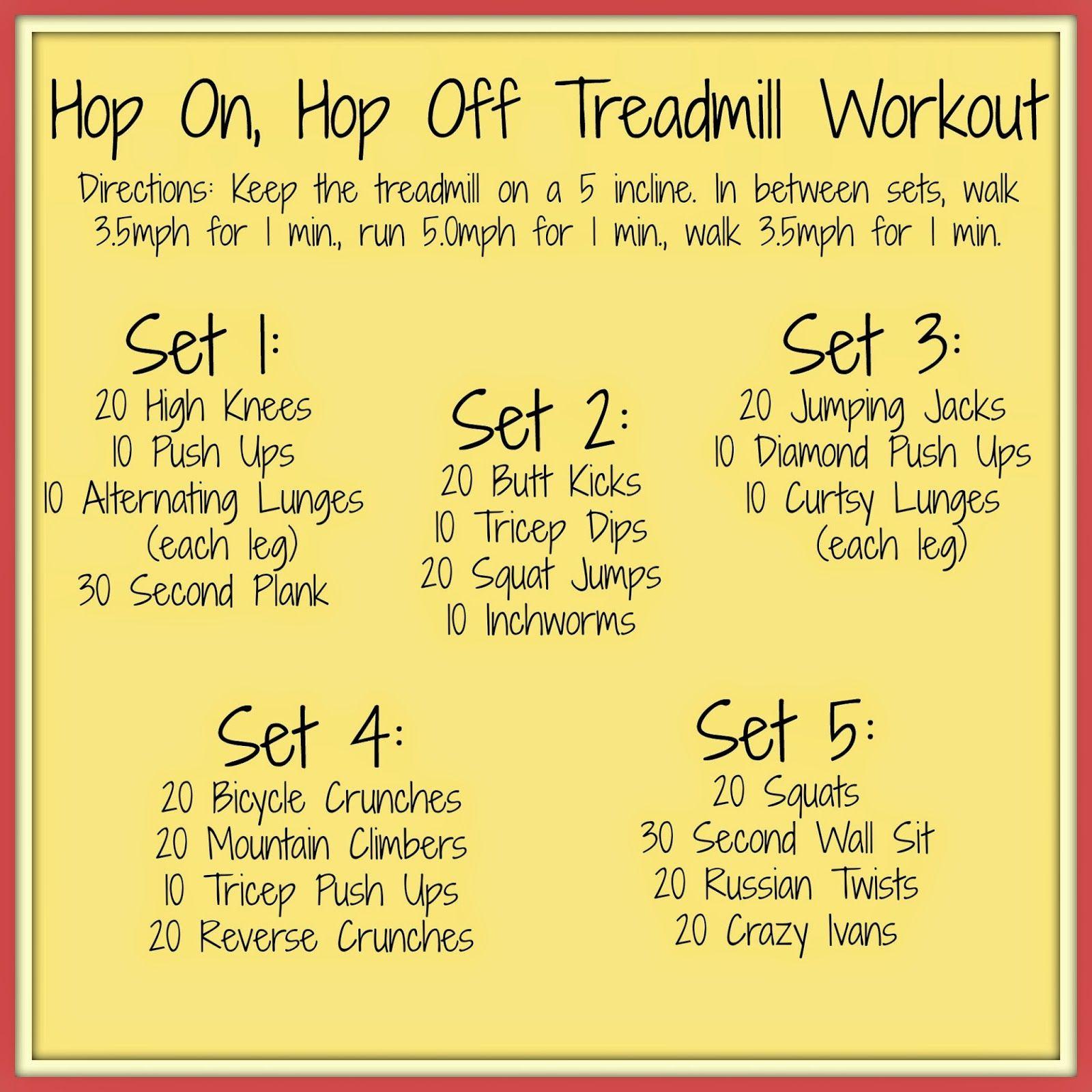 Running A Thousand Miles Hop On, Hop Off Treadmill Workout