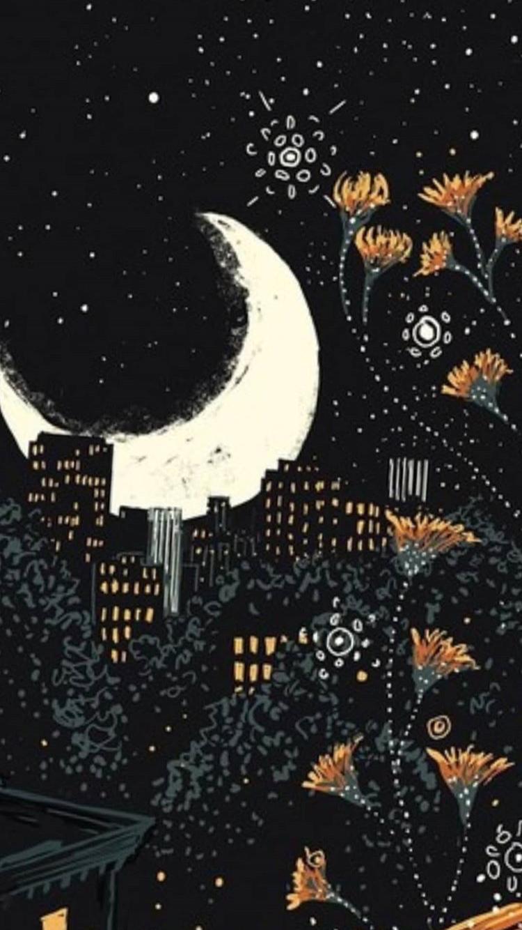 Pin By Nikole Cruz On Wallpappers Art Wallpaper Celestial Art Moon Art