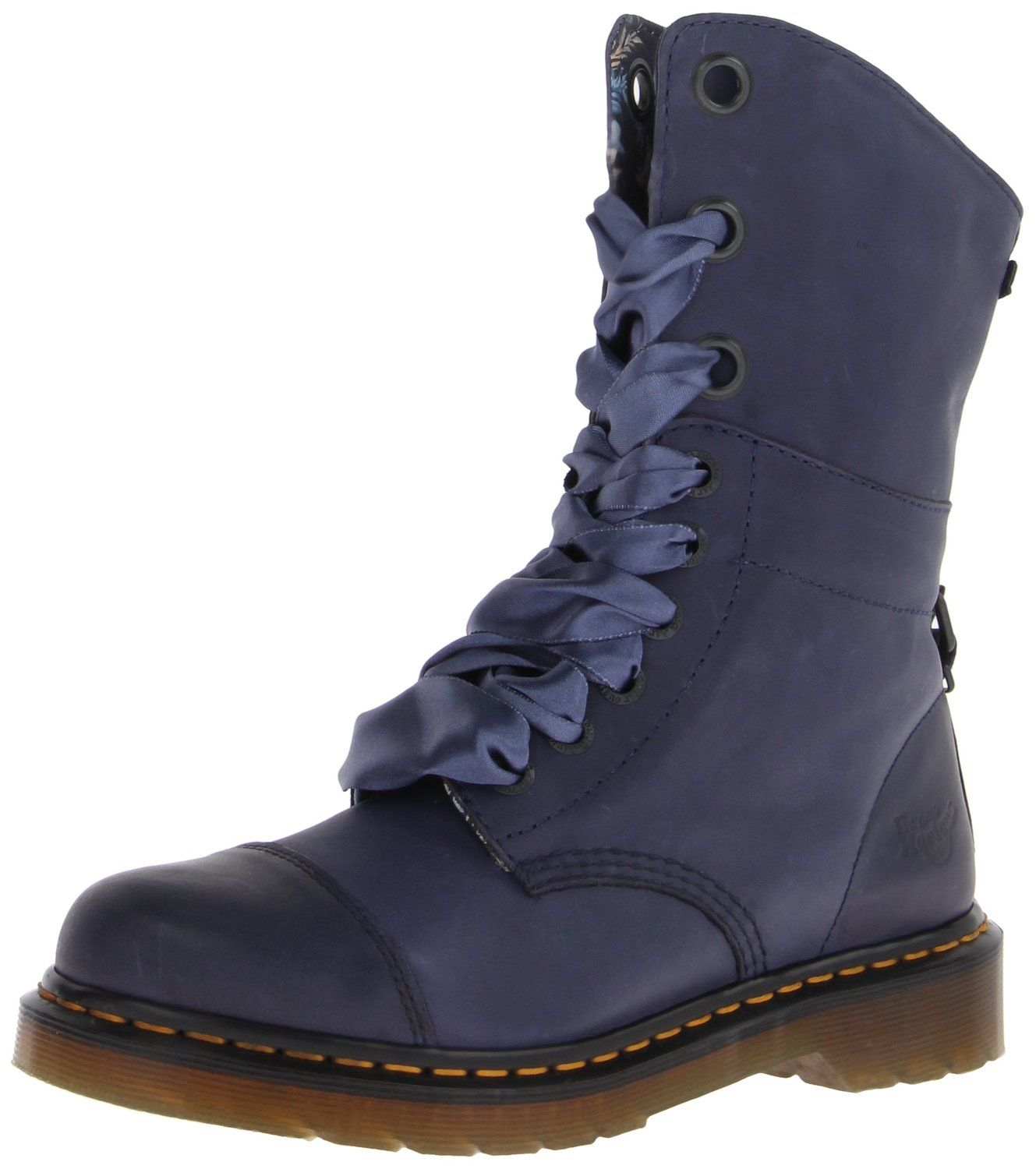 Amazon.com | Dr. Martens Women's Aimilie Combat Boot | Mid-Calf