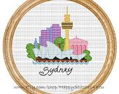 Cross Stitch Pattern PDF New York city DD0068 by HappyStitches4You
