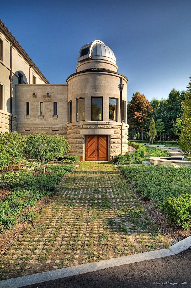 Dogwood Manor 9 000 Sq Ft Michigan Home On 50 Acres With Private Observatory Reduced To 5 2m Phot Astronomical Observatory Observatory Largest Telescope