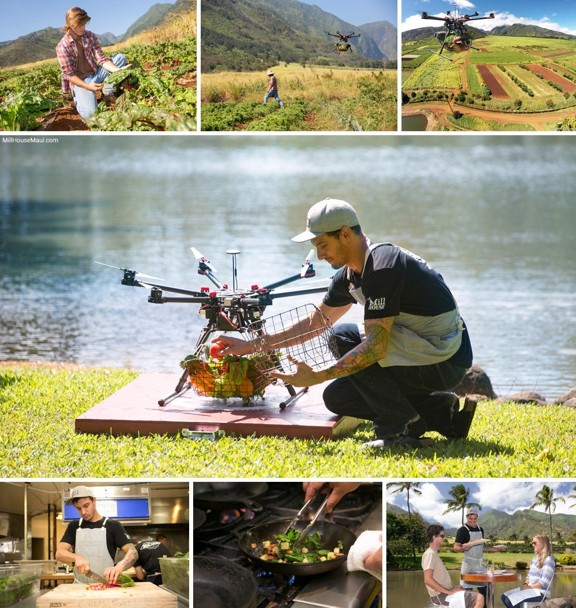 Drone to Table was born in the pursuit of