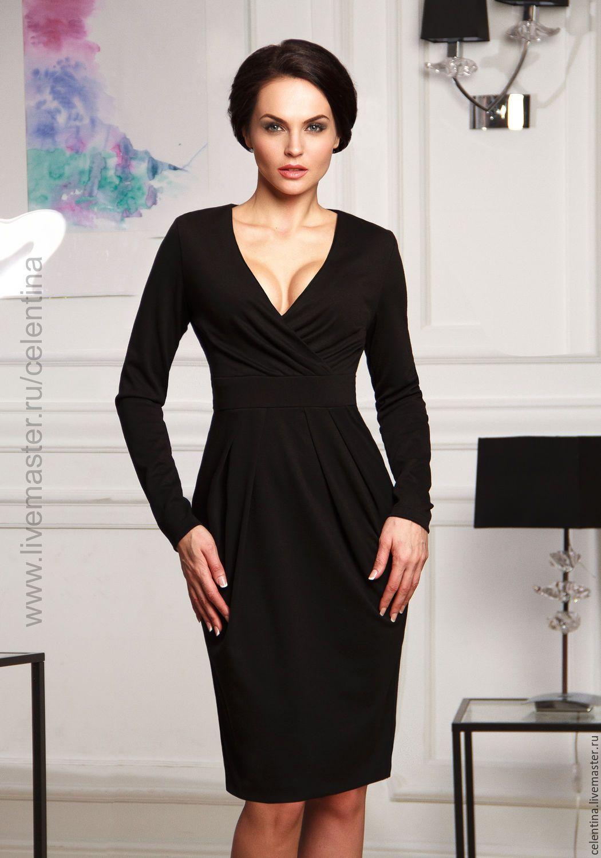 Платье Azure black L