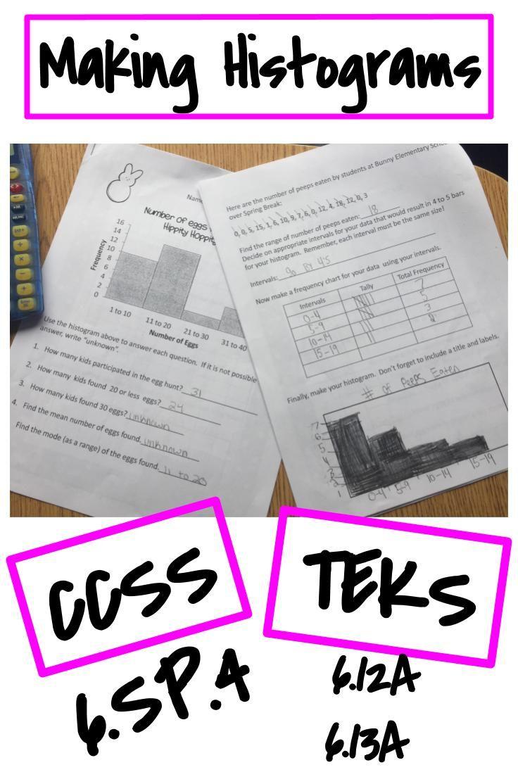 Year Round Holiday Histogram Bundle Worksheets Only Histogram Worksheets Resource Classroom