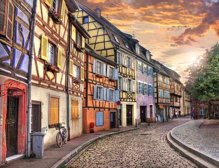 Fairytale town of Colmar, France