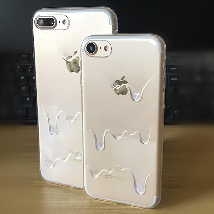 cream iphone 7 plus case