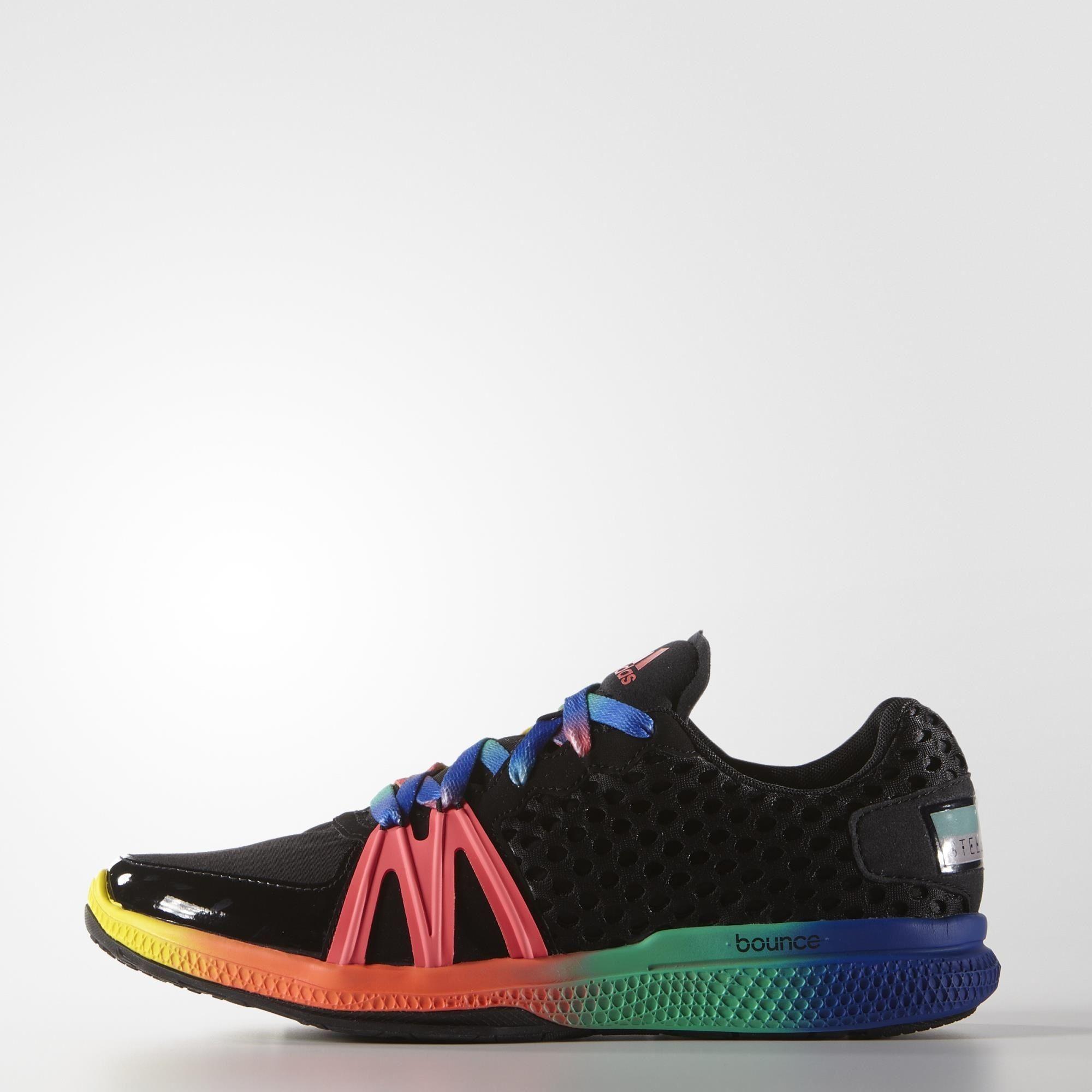 adidas STELLASPORT Ively Shoes Black   adidas US   RAINBOW