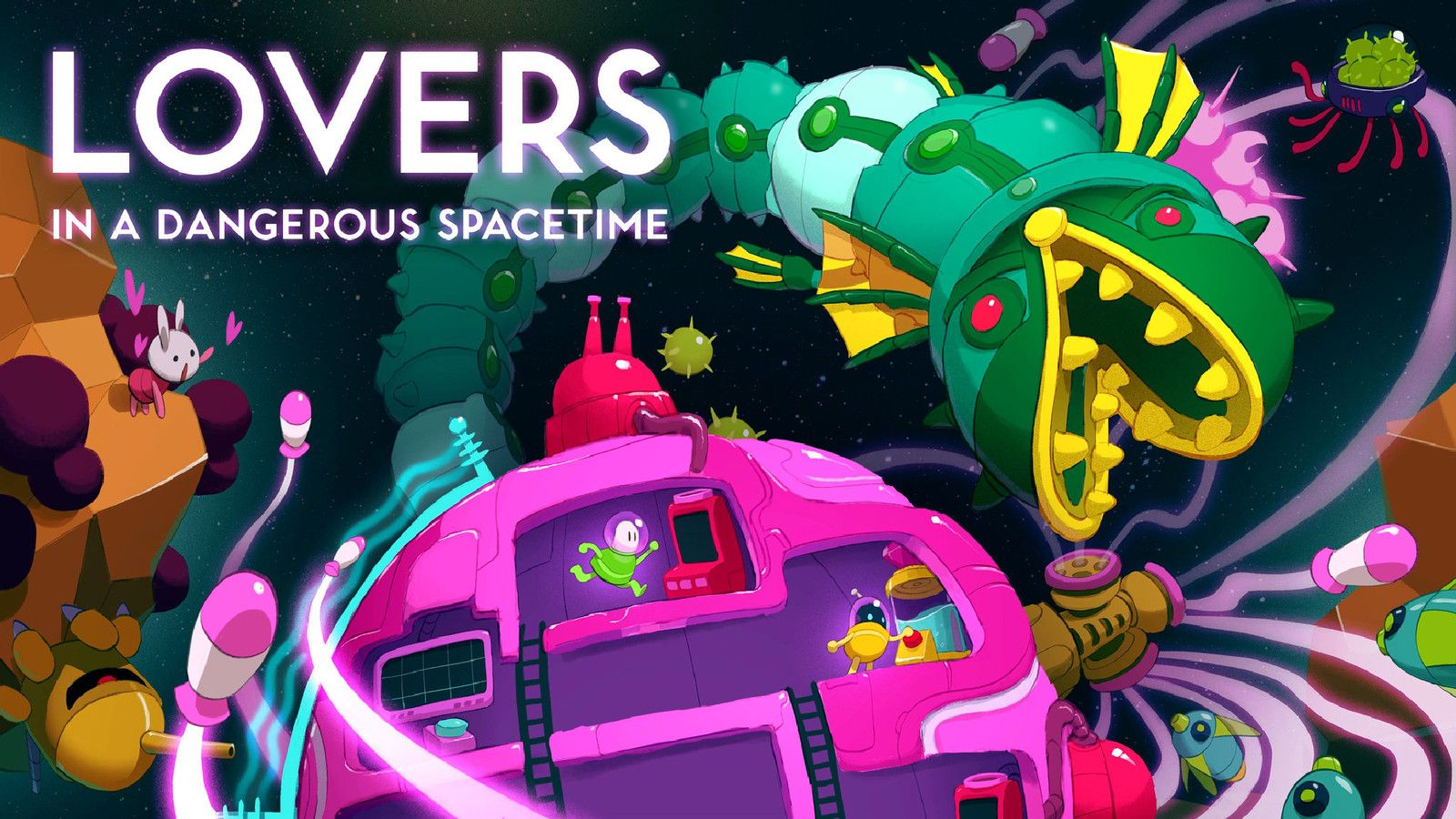 Lovers in a Dangerous Spacetime review Coop goodness on