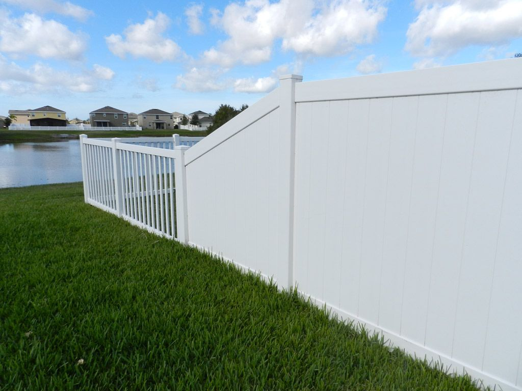 upvc solid white fence posts in El Salvador eco Low Carbon