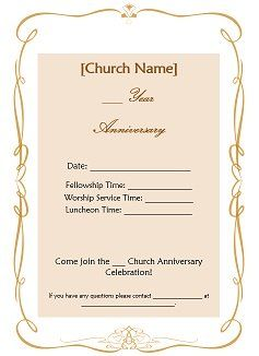 Invitation Letter For For Church Grand Opening With Special Guest