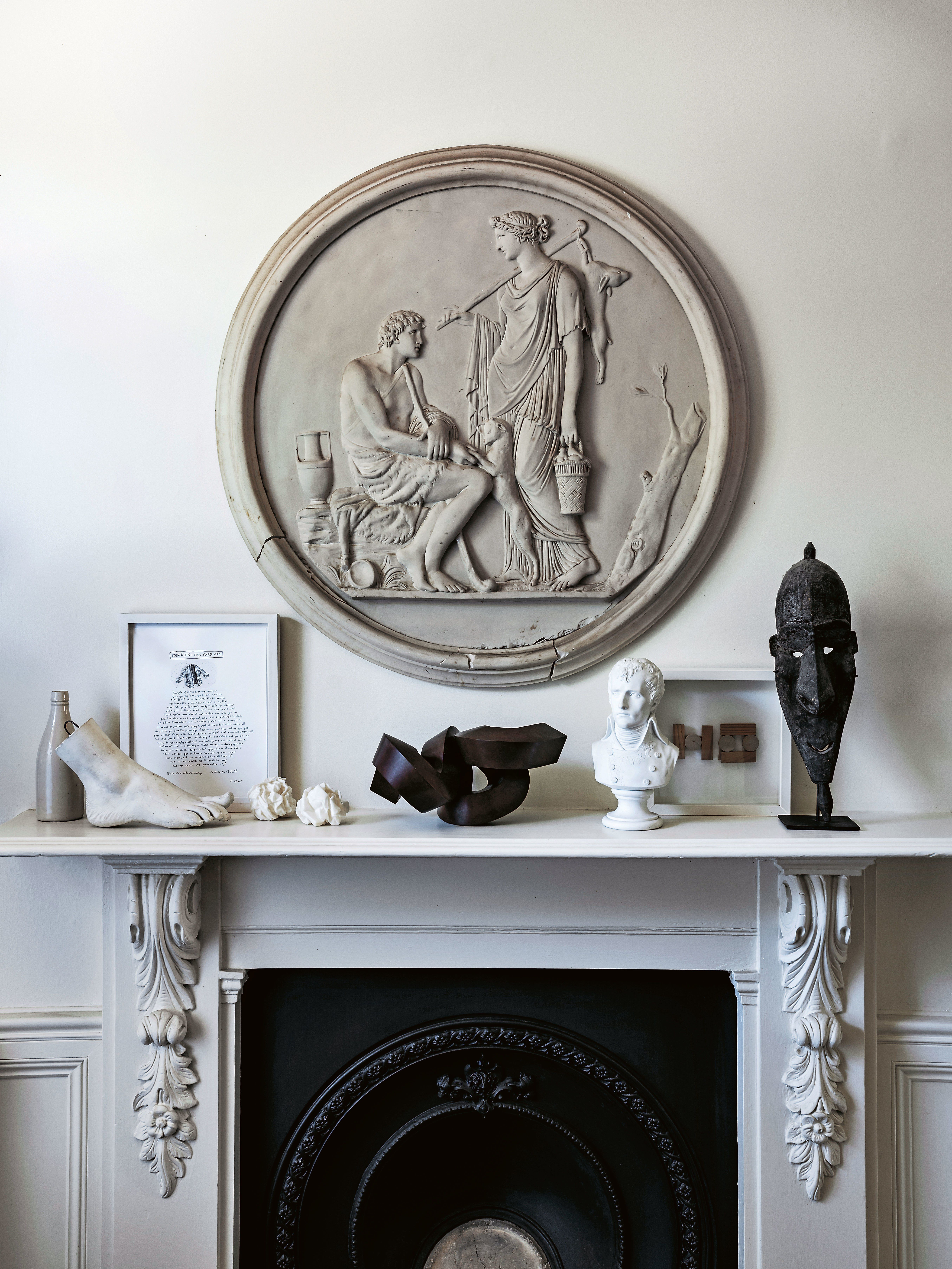 How to Decorate with Soul is part of Mantle decor Photos - Australian lifestyle editor and architecture buff Karen McCartney shares her design insights in a new book The Alchemy of Things