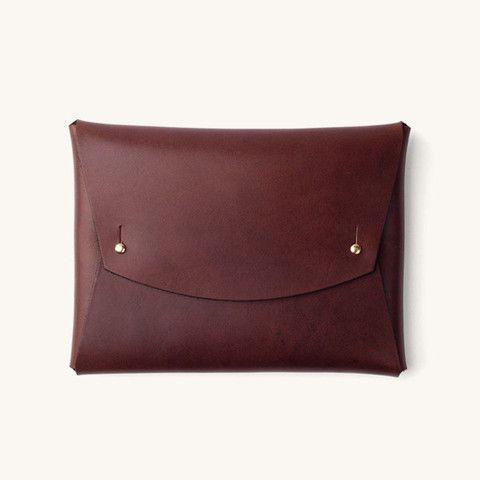 Tanner Goods Document Folio - fine leather goods with minimalist design