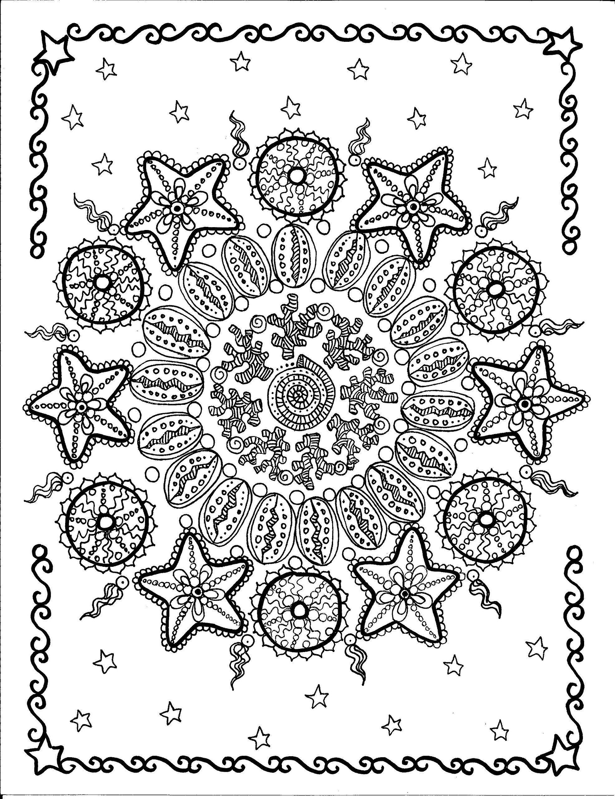 Stress Less Relaxation Coloring Book for Adults: Deborah Muller ...