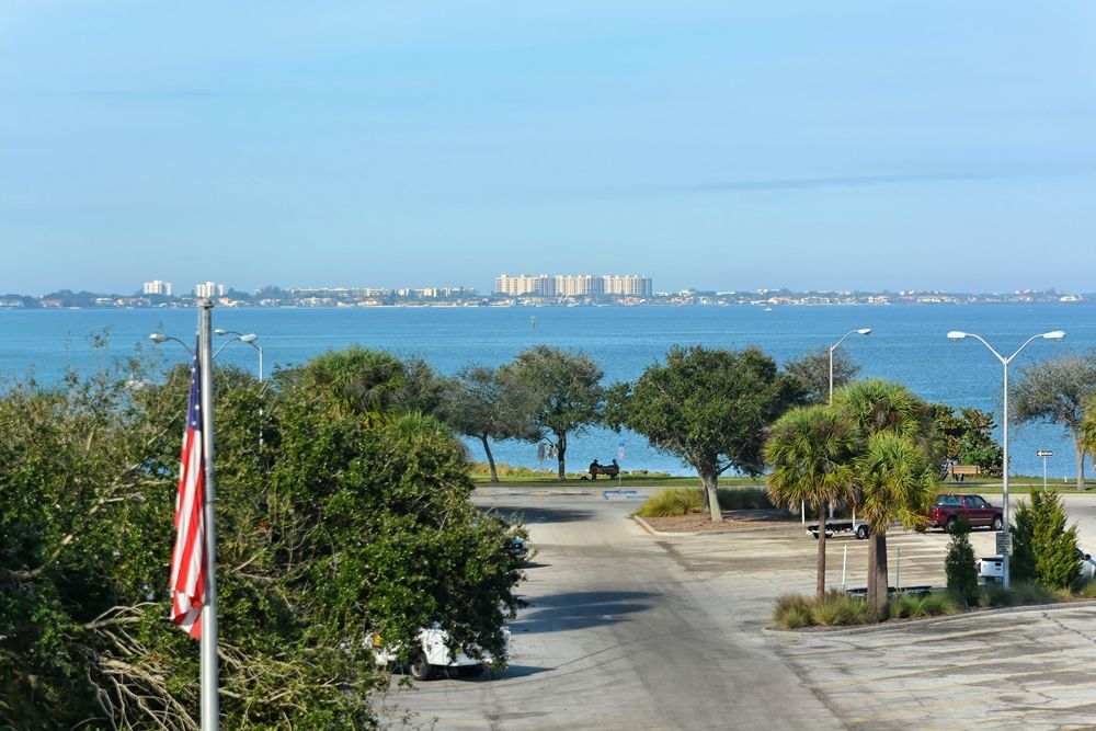 Water view from 1064 N. Tamiami Trail 1317, Sarasota, FL