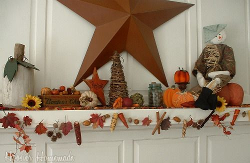 Decorazioni autunnali  http://itsablogparty.com/fall-get-together-party-2/#