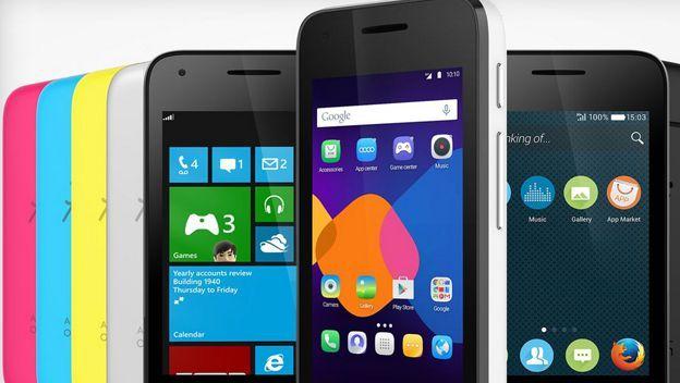 Alcatel Pixi 3 Un Movil Con So Android Windows Y Firefox