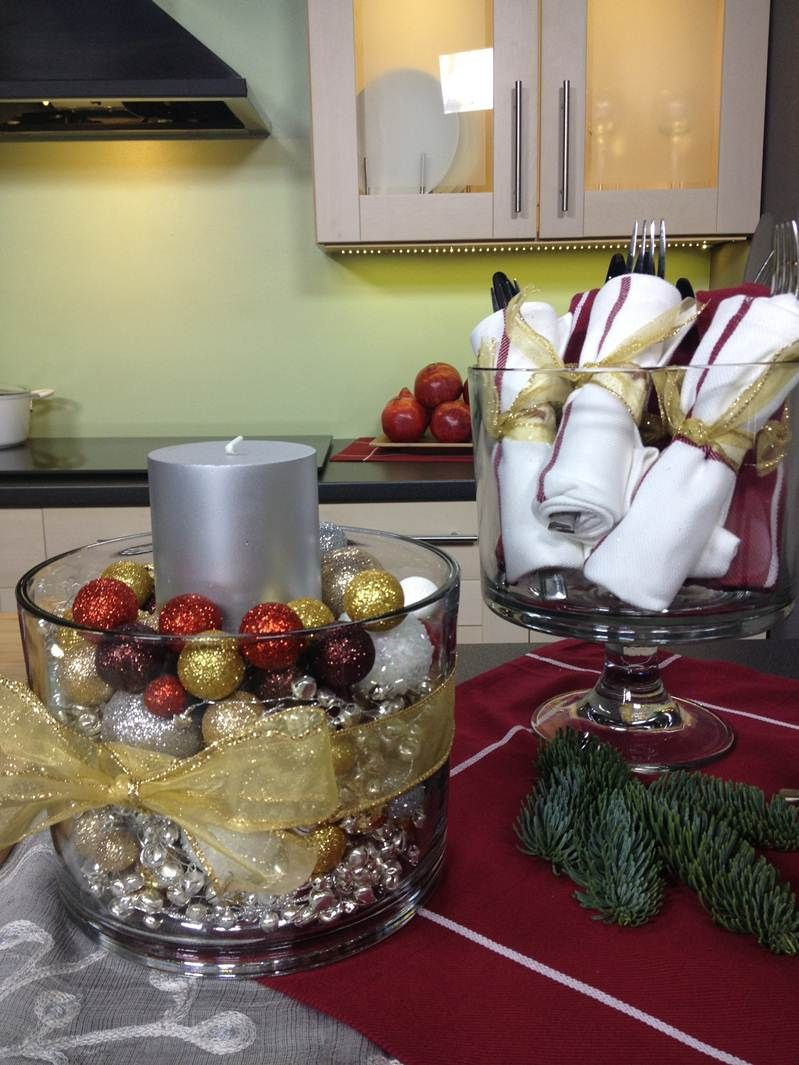 Love these creative uses for the trifle bowl on