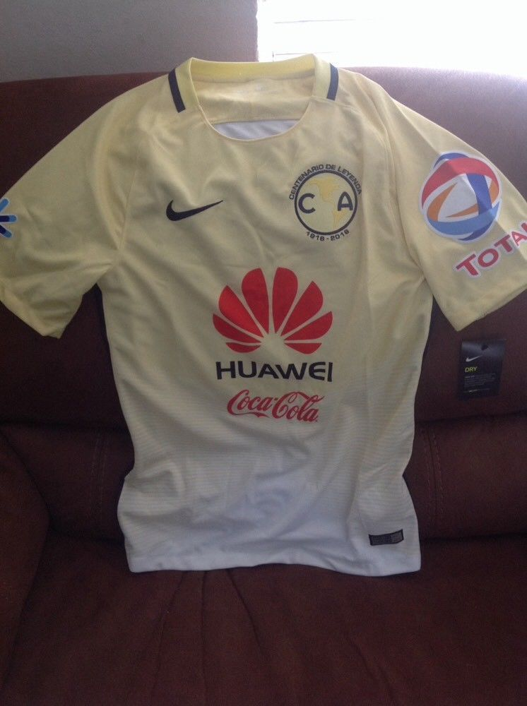 42d3a27031fb0 Nike club America liga mx Centenario Leyendas soccer jersey NWT size Small  mens | Sports Mem