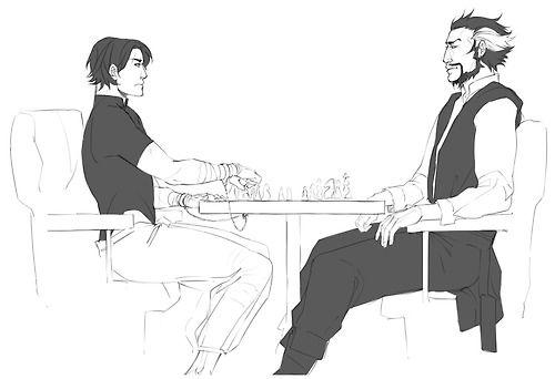 نتیجه تصویری برای tim drake and ra's al ghul fanart Pinterest