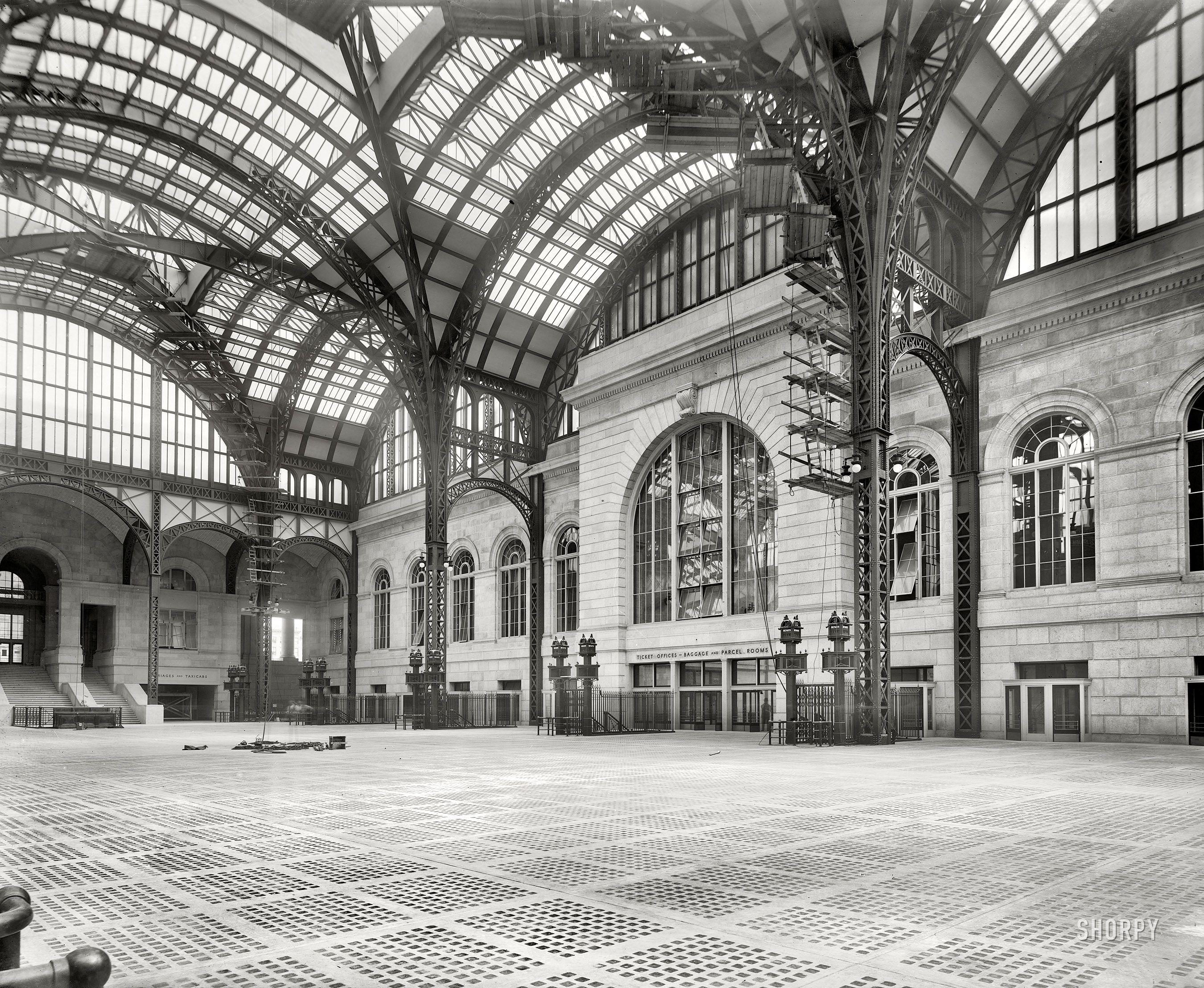 penn station platform showing glass floor to illuminate platforms rh pinterest ca