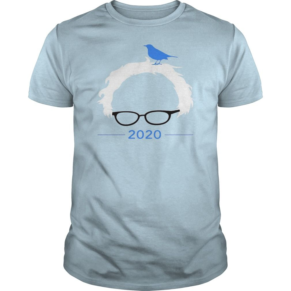 Bernie bird t shirt president 2020 sanders bern birdie tee
