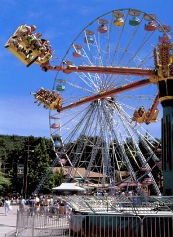 Knoebels Amusement Park in Elysburg, Pennsylvania