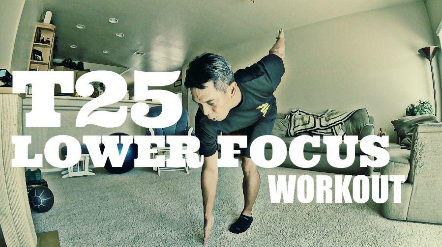 T25 Lower Focus Workout, T25 on Beachbody on Demand, Leg Day