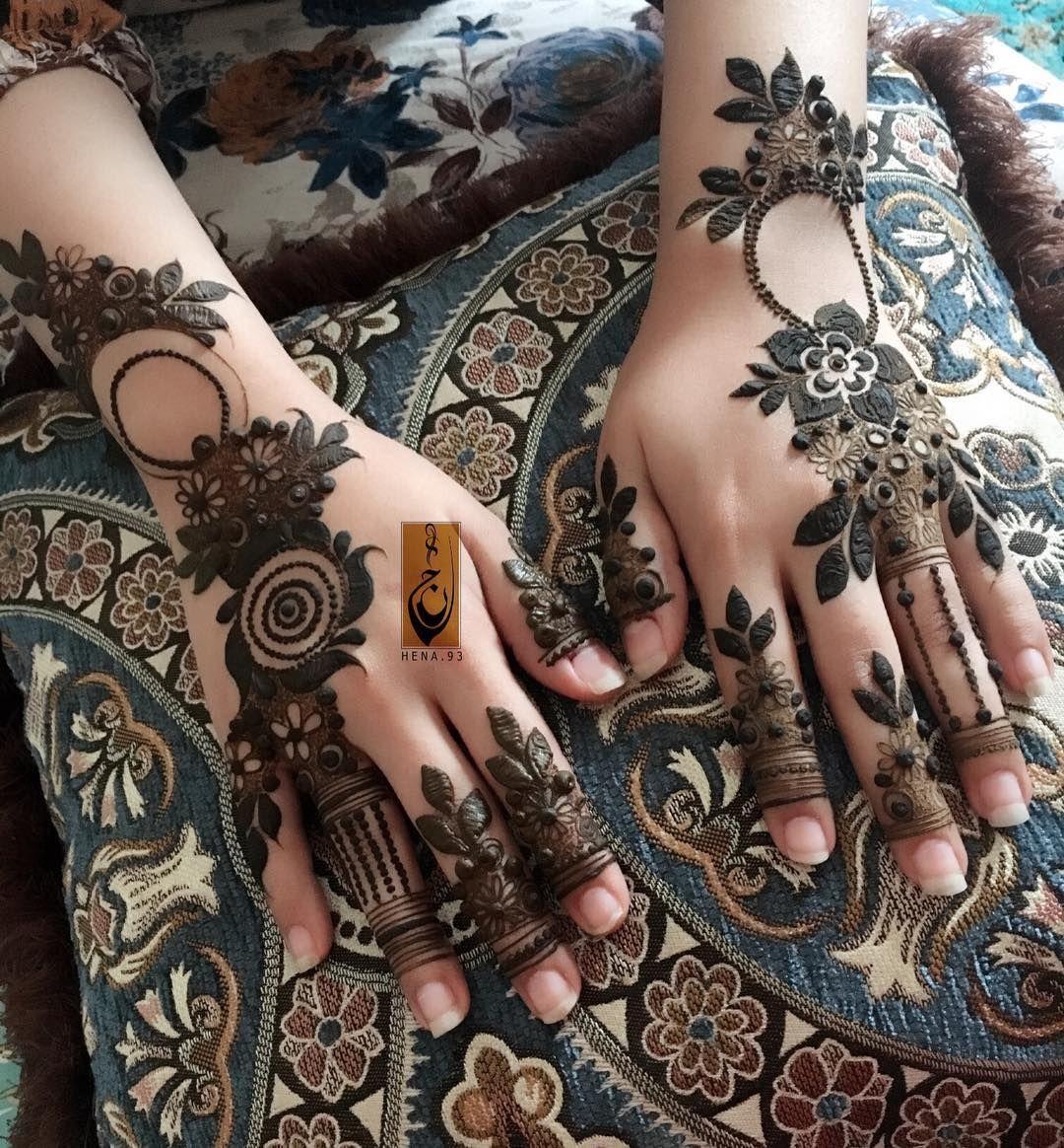 362 Likes 9 Comments س ــعاد Hena 93 On Instagram عندما لاتبدو أمور حياتك على ما يرام قل حسبي الله سيؤتين Mehndi Designs Henna Mehndi Henna Patterns